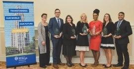 Distinguished Alumni award winners 2019